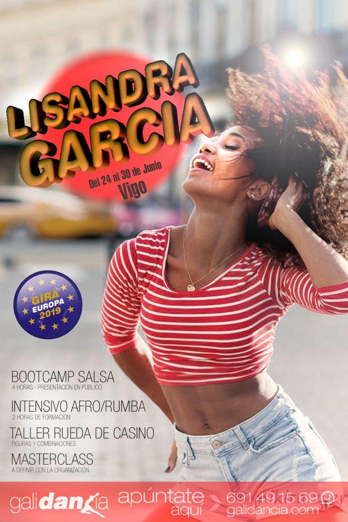 Lisandra Garcia visita Galicia