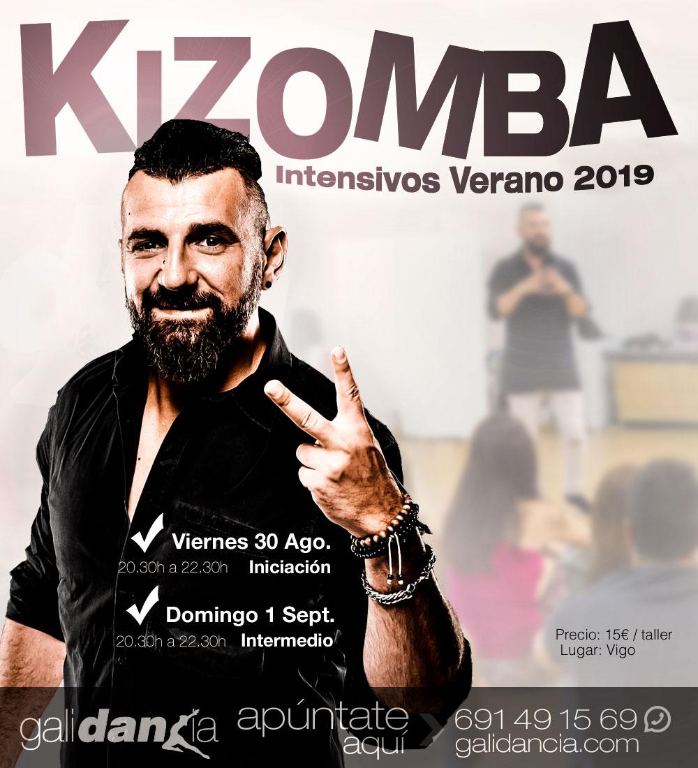 Intensivos de verano de Kizomba en Galidancia