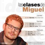 Clases de Miguel en Galidancia