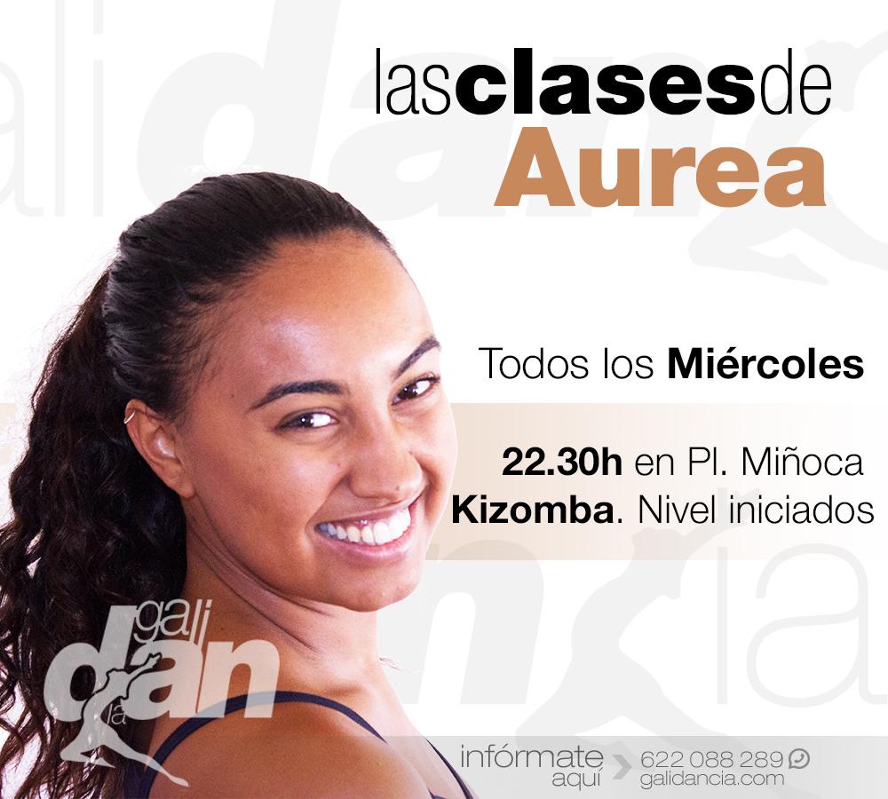 Clases de Kizomba con Aurea en Galicia
