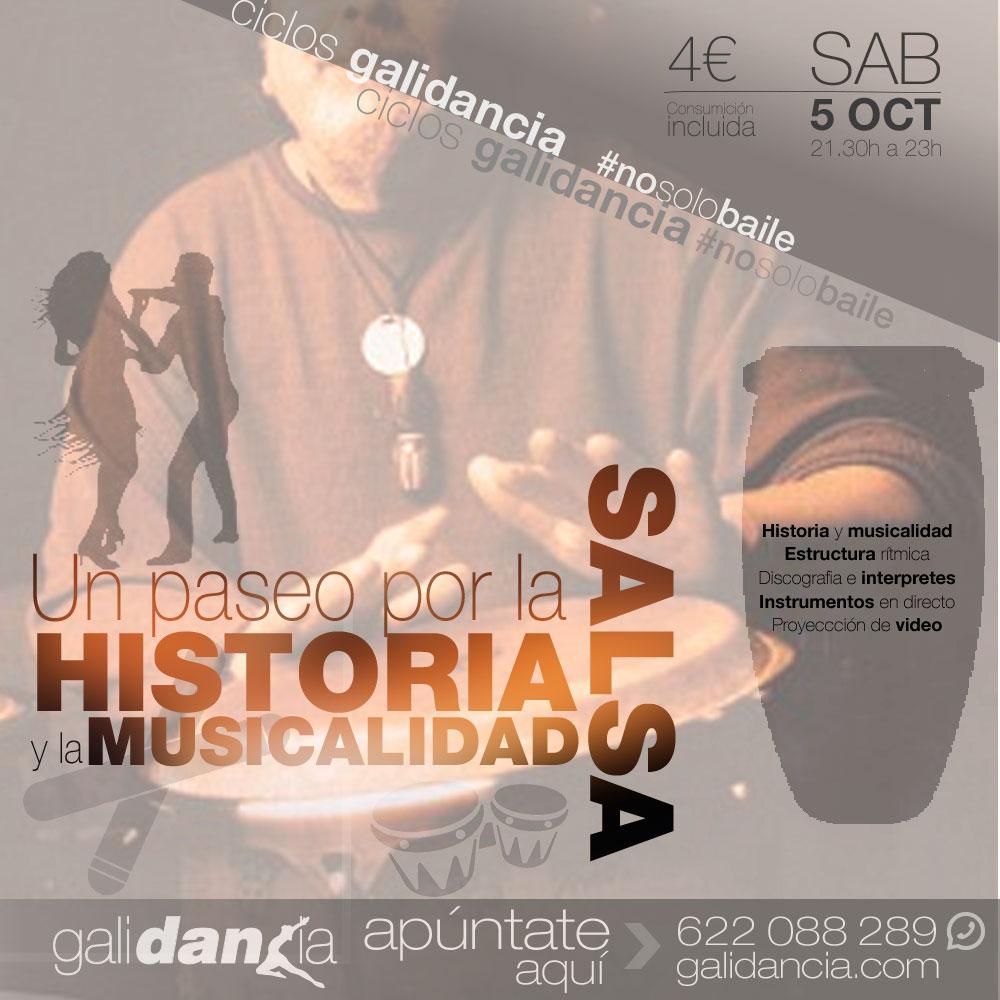 Historia y musicalidad en la salsa