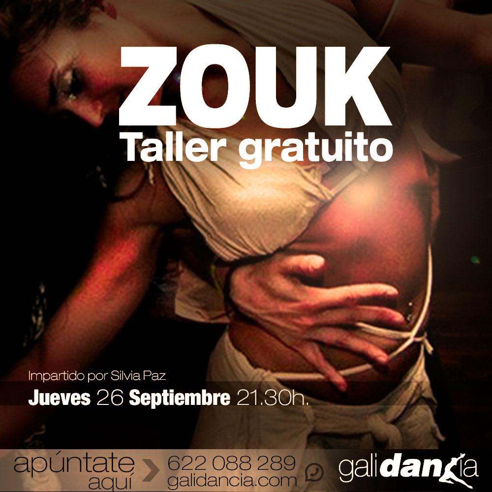 Taller intensivo de Zouk en Galidancia