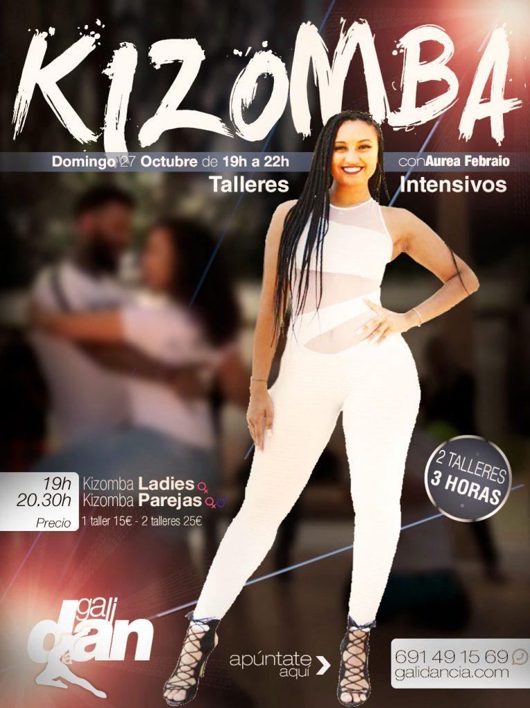 Taller de Kizomba con Aurea en Galidancia