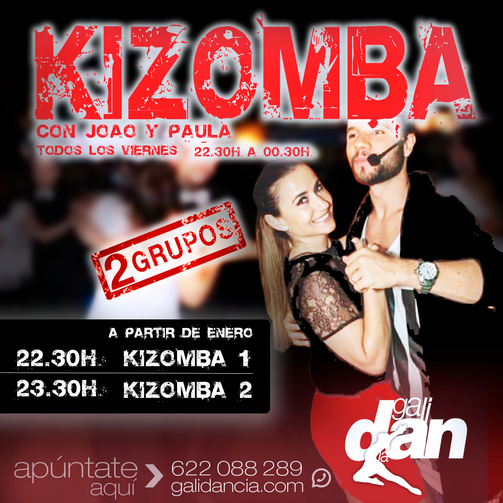 Clases de Kizomba en Vigo