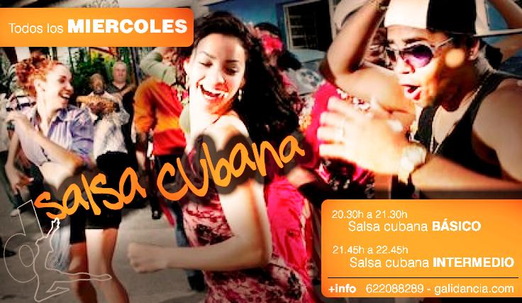 Clases de salsa cubana en Vigo
